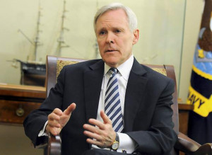 "Navy Secretary Ray Mabus seems to prefer ""Semper Fortis"" as the ..."