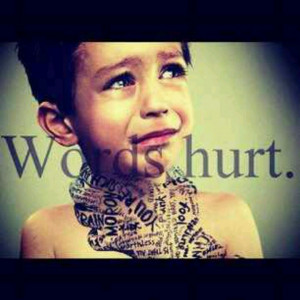 ... bullying is girls don't like boys who are mean... It just makes me sad
