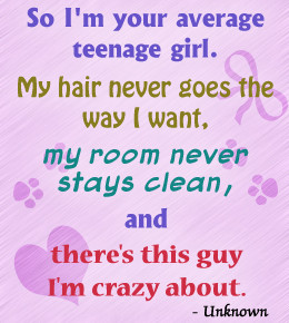 Quotes for teenage girls