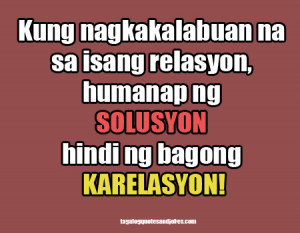 Single Quotes Tagalog Picture