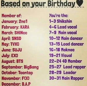 Kpop birthday game. I'm BTS's lead dancer. I love rap, but I'm as ...