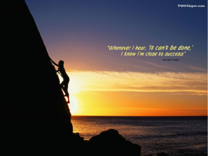 Inspirational Im Close To Success Wallpaper with 1024x768 Resolution