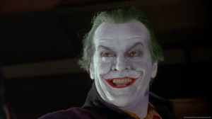 Next Friday Joker Jack nicholson as the joker in