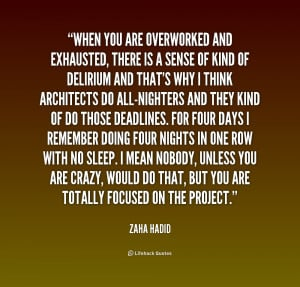 Exhausted Quotes