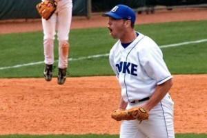As a pitcher at Duke , Mike put together a fine list of ...