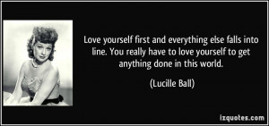 loving yourself first quotes