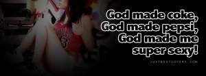 God Made Coke Facebook Cover Photo