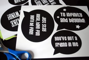 free printable photo booth props words pdf