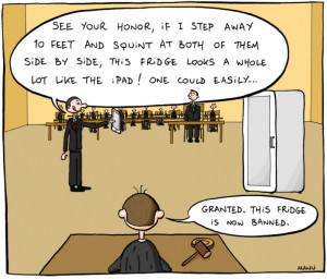 Apple Lawyer Defends iPad - Funny Jokes