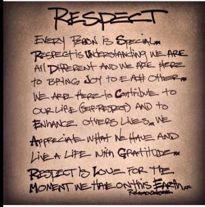 RESPECT Learn It-Earn It-Return It.