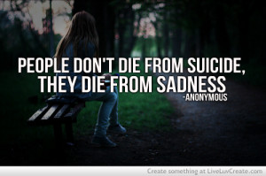 sad suicide love quotes /