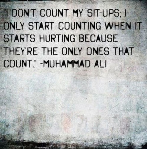 Damn good quote from Ali