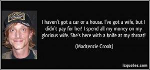 More Mackenzie Crook Quotes
