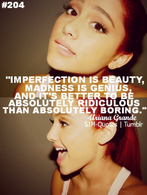 Ariana Grande Funny Quotes
