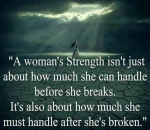 Strength. Support one another.