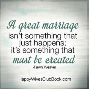 GREAT MARRIAGE