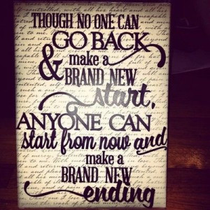 Framed Quote Wall Art Ho...
