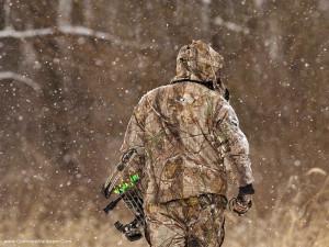 beautiful bow hunting bowhunting woods