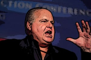 tired of sitting idly by while Limbaugh makes millions spreading hate ...