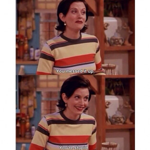 Joey: Don't you put words in people's mouths. You put Turkey in ...