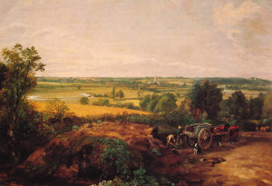 What is John Constables' famous painting
