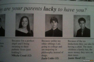 17 Yearbook Quote WINS!