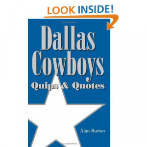 Famous Dallas Cowboys Quotes