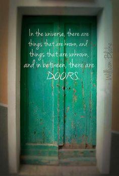 Inspirational quotes. door quotes. doors. image quotes. photo quotes ...