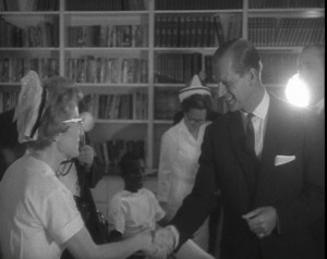 Prince Philip...To the nurse of a hospital in the Caribbean he ...