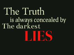 Quote, saying, life, deep, truth, lies