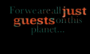 Quotes About: planet