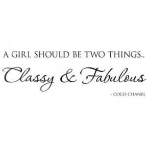 Classy And Fabulous Coco