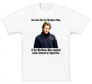 Denis Leary Rescue Me Quote T Shirt