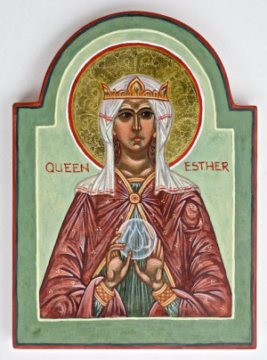 ... queen, and so thus is Mary the queen, accompanying the King in His