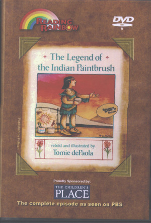 home dvds reading rainbow reading rainbow legend of the indian ...