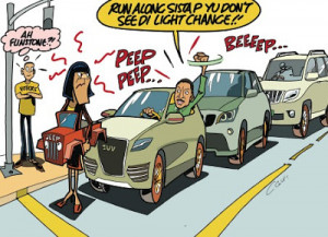 Portia's Jeep: Leading The Way To Jobs Or To Flintstone Era?