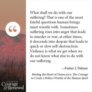 ... suffering. But we can ride the power of suffering toward new life