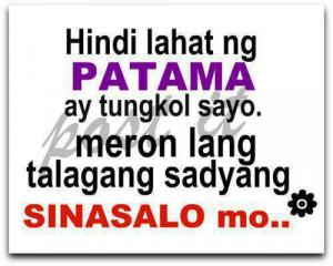 Quotes About Love Tagalog Patama Sa Crush Love quotes ta.