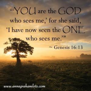 Anne Graham Lotz | Genesis 16:13