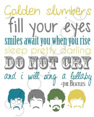 Let it Be Beatles Quote Subway Art PRINTABLE - Many Colors Available