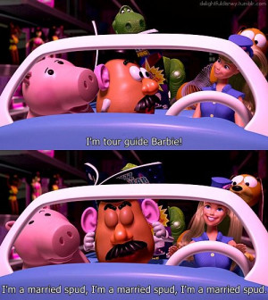 Toy Story 2 Gotta love Mr. Potato Head :)