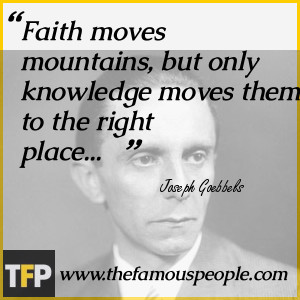 Joseph Goebbels Quotes About Jews