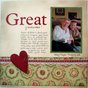 Great Grandmother Quotes http://www.sharingmemoriesscrapbooking.com ...