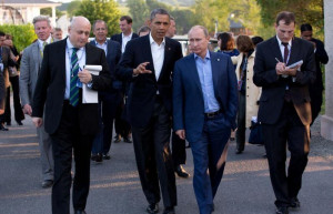 ... » World News » Putin Calls Obama to Discuss Ukraine, Middle East