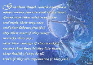 You Are My Guardian Angel Quotes Guardian angel... you are my