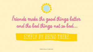 ... things not so bad… simply by being there. #Hallmark #HallmarkIdeas