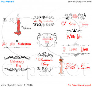 Clipart-Of-Valentine-Greetings-And-Sayings-11-Royalty-Free-Vector ...