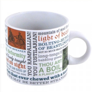 Shakespeare Insults Mug Quotes