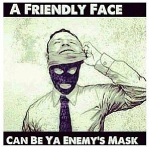mask nobody quote quotes trust