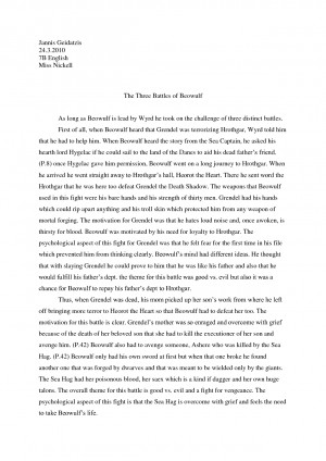 Paragraphs essays lee brandon
